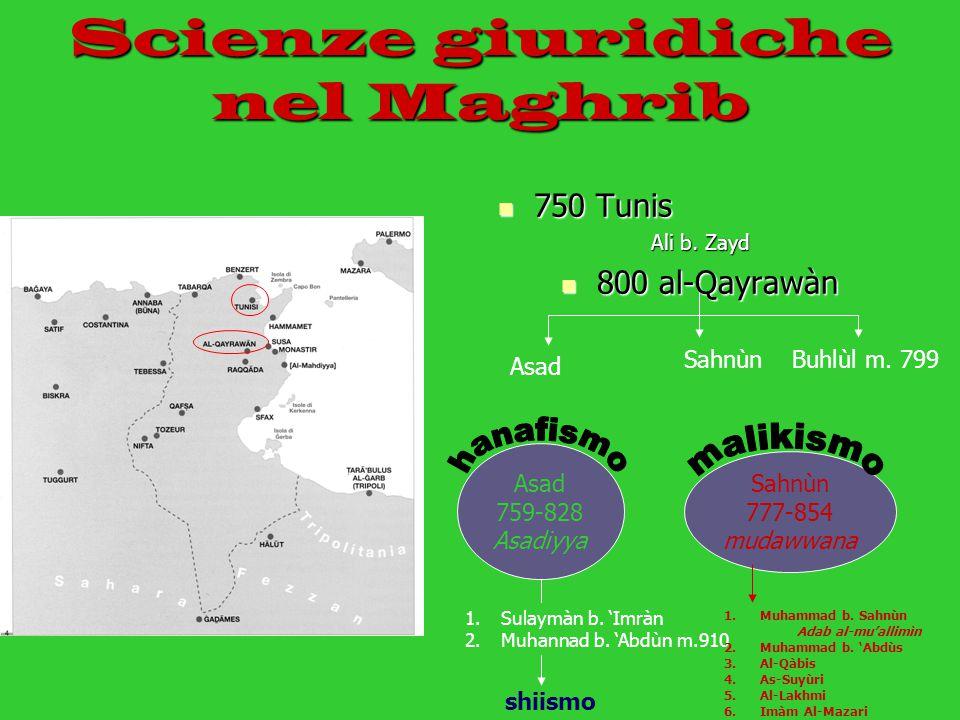 Scienze giuridiche nel Maghrib