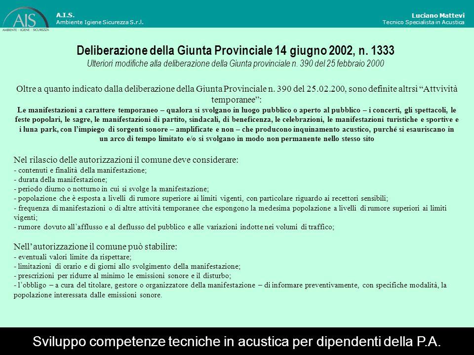 Deliberazione della Giunta Provinciale 14 giugno 2002, n. 1333