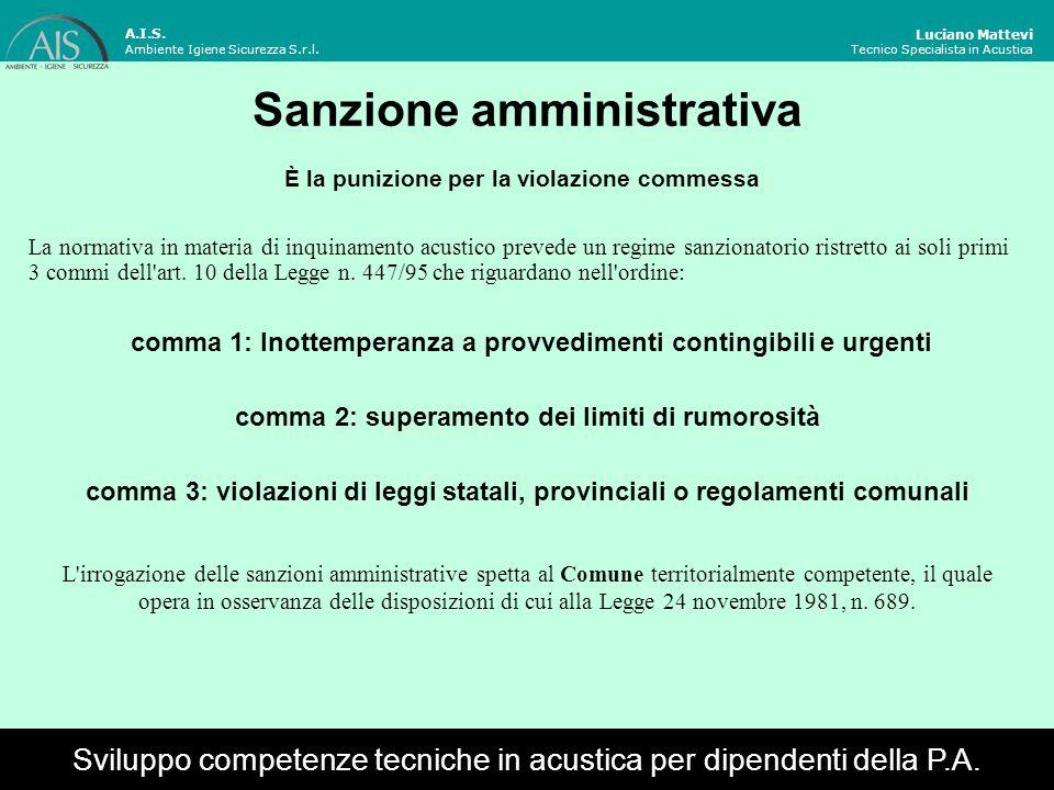Sanzione amministrativa