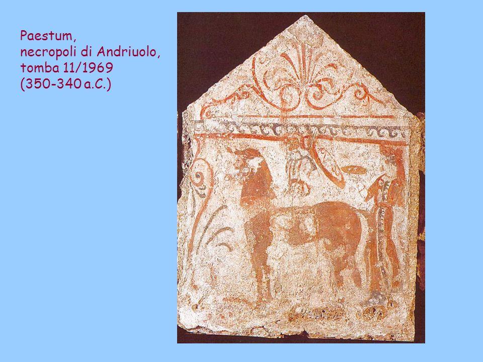 Paestum, necropoli di Andriuolo, tomba 11/1969 (350-340 a.C.)