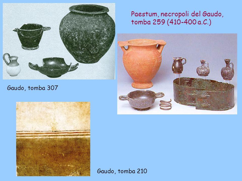 Paestum, necropoli del Gaudo, tomba 259 (410-400 a.C.)