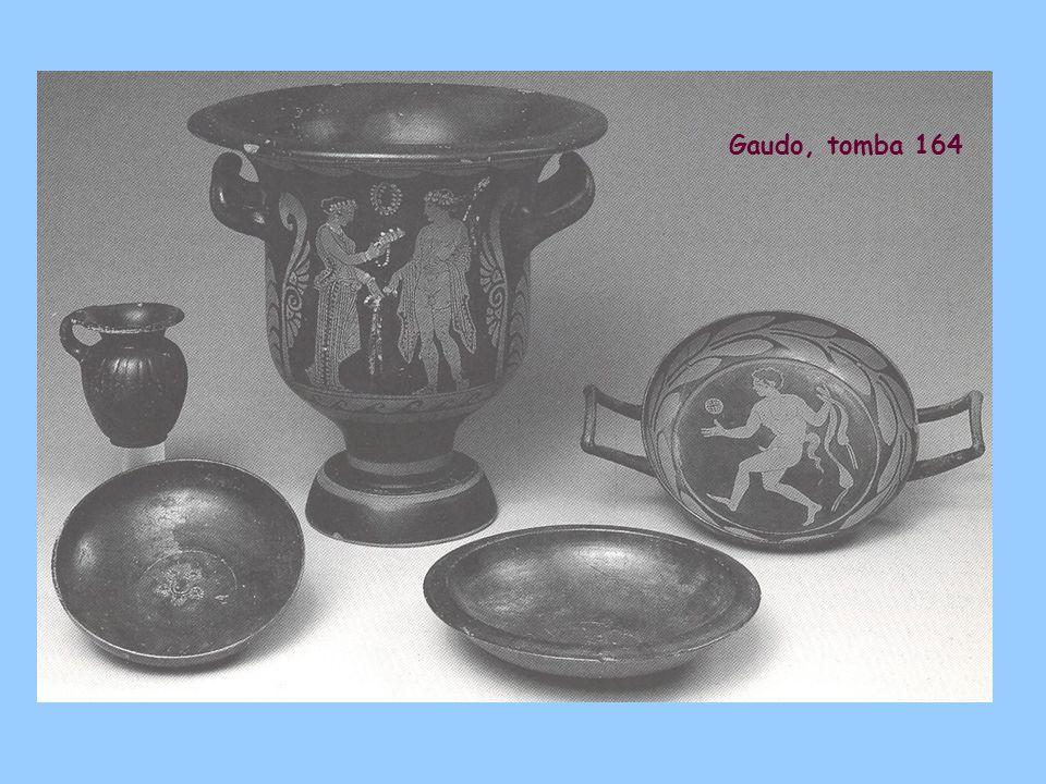 Gaudo, tomba 164
