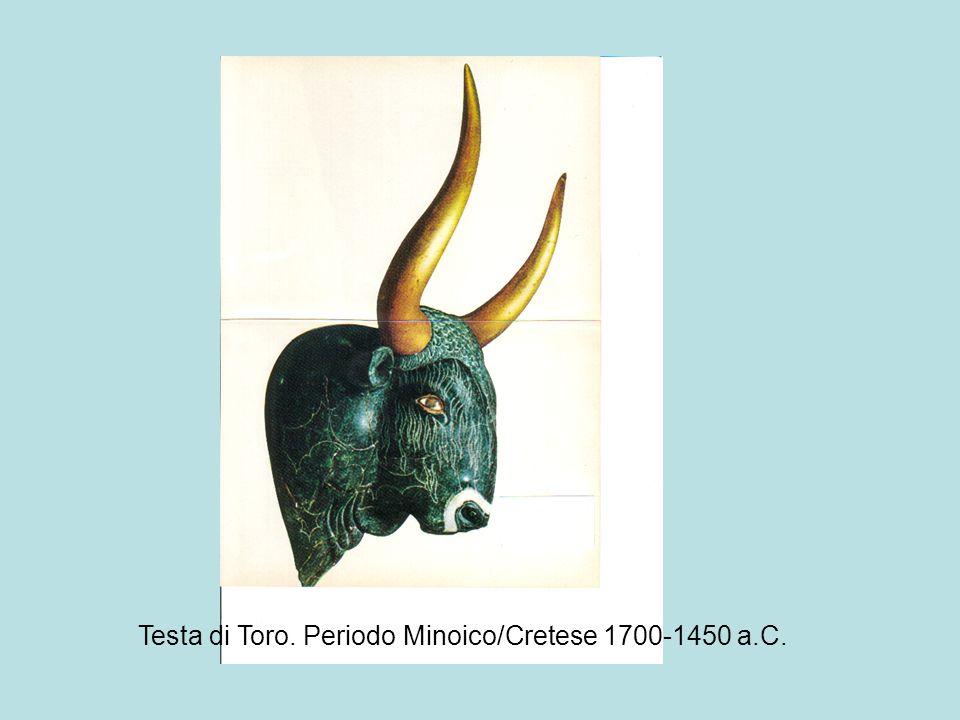 Testa di Toro. Periodo Minoico/Cretese 1700-1450 a.C.