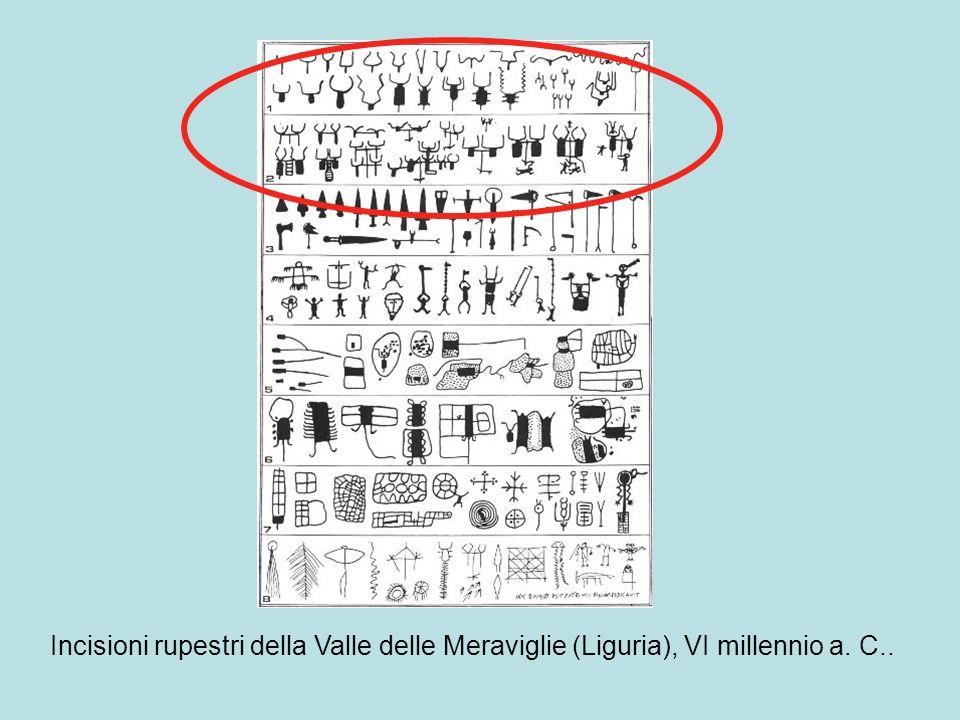Incisioni rupestri della Valle delle Meraviglie (Liguria), VI millennio a. C..