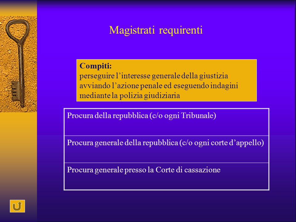 Magistrati requirenti