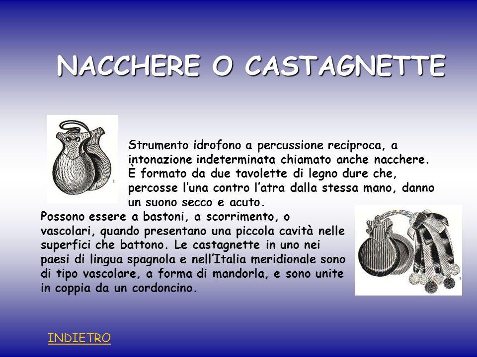 NACCHERE O CASTAGNETTE