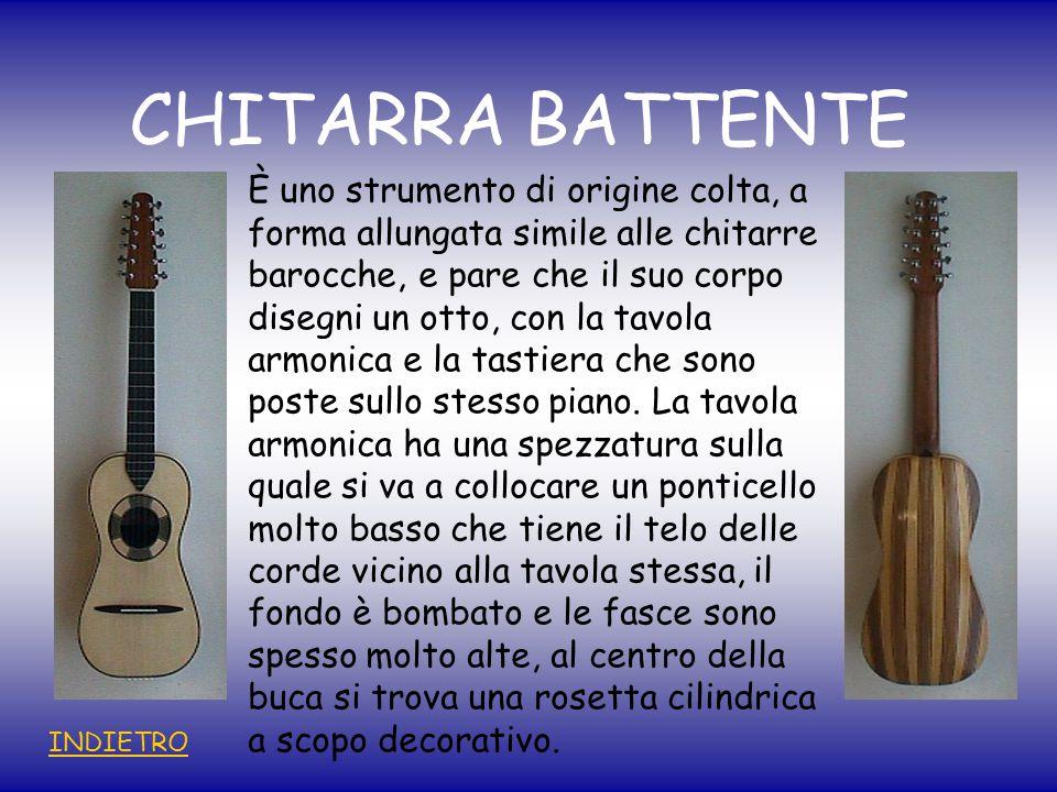 CHITARRA BATTENTE