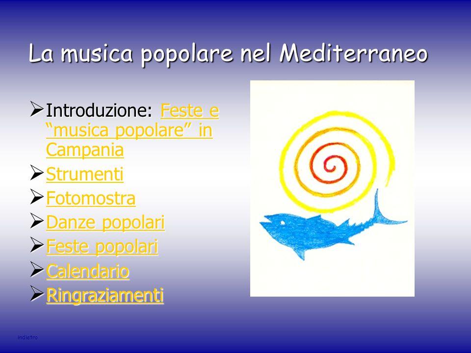 La musica popolare nel Mediterraneo