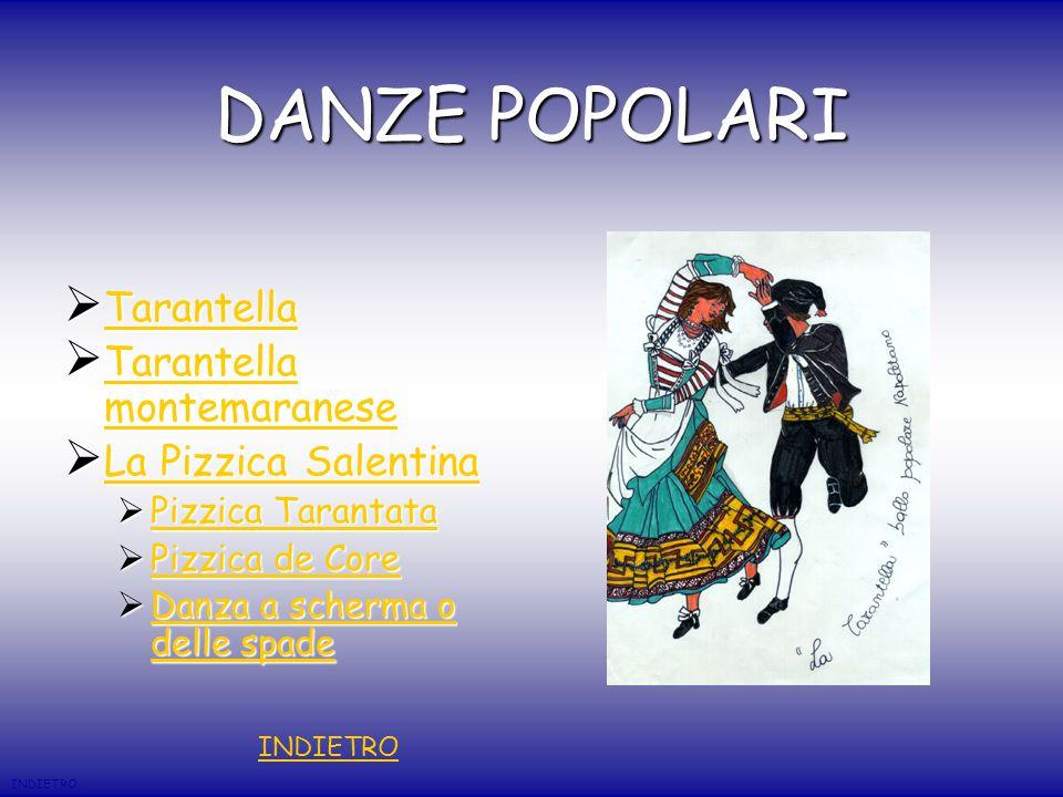 DANZE POPOLARI Tarantella Tarantella montemaranese