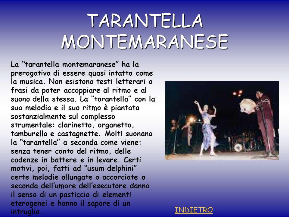 TARANTELLA MONTEMARANESE