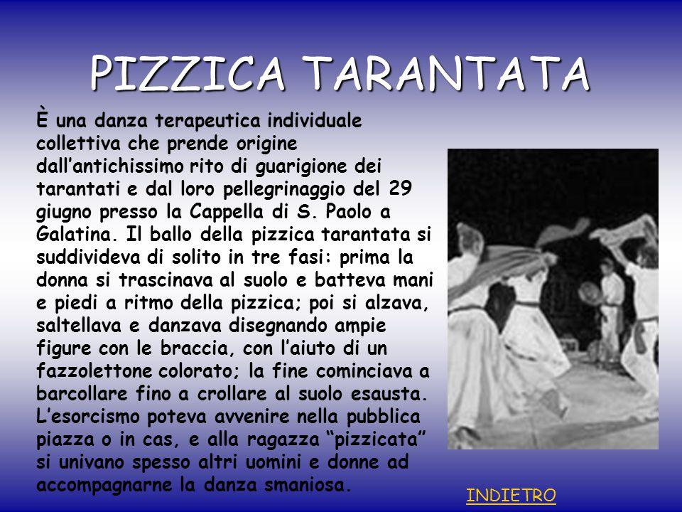 PIZZICA TARANTATA