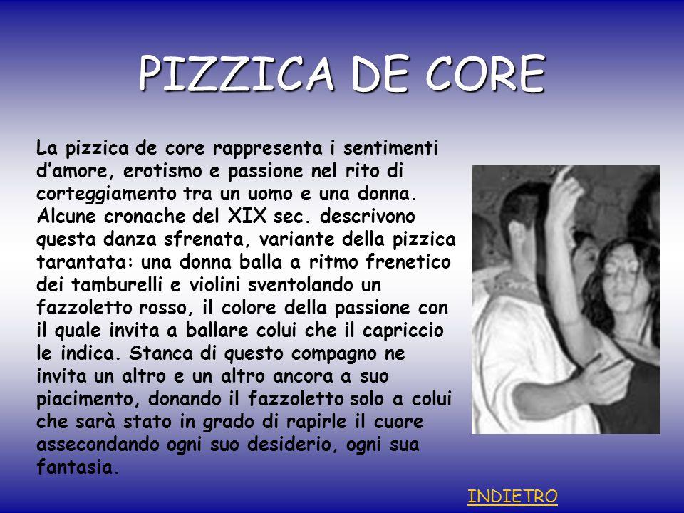PIZZICA DE CORE