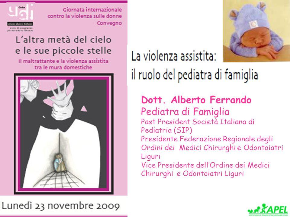 Dott. Alberto Ferrando Pediatra di Famiglia