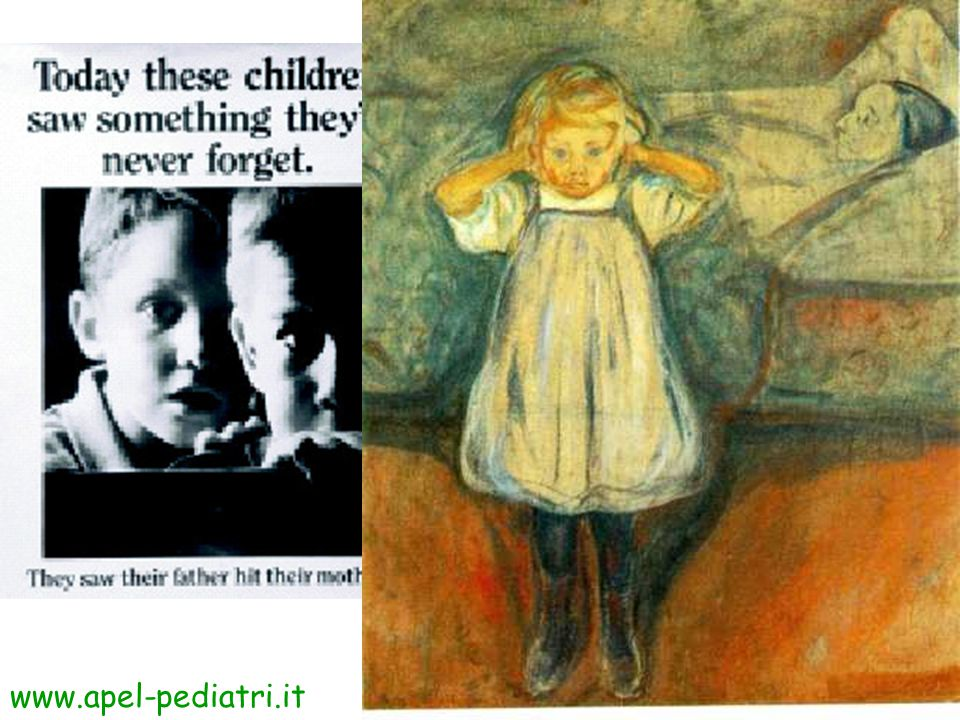 Ogni volta che una madre viene abusata anche suo figlio ne soffre.