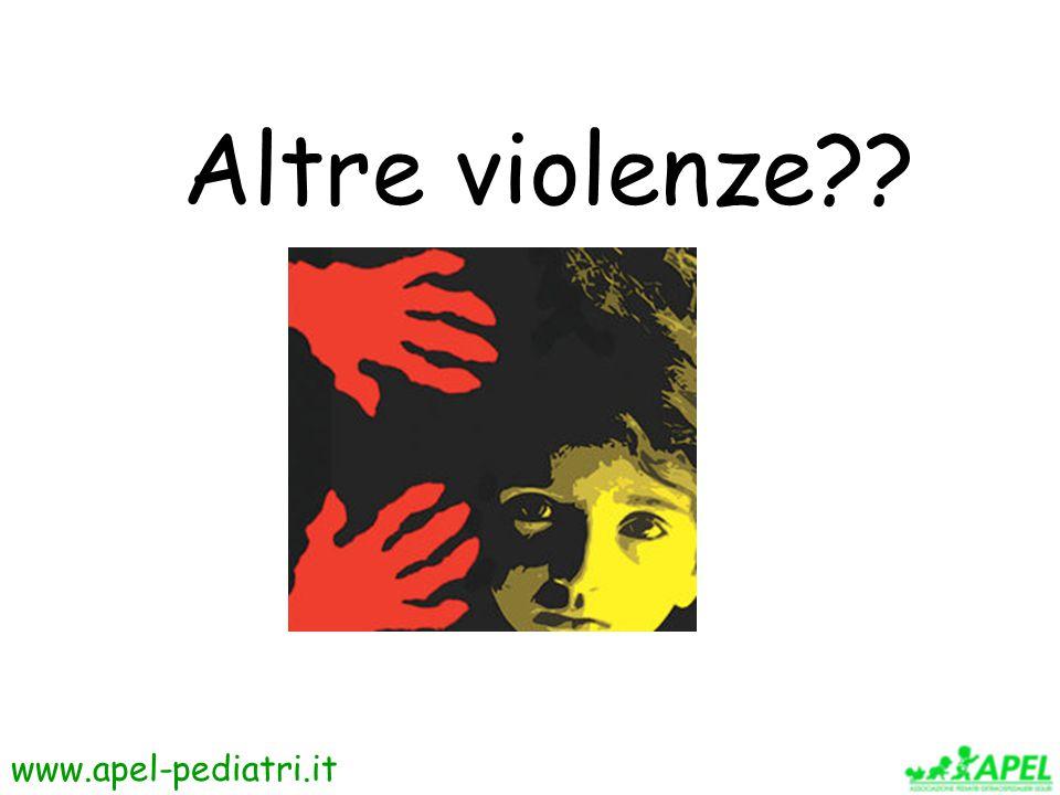 Altre violenze