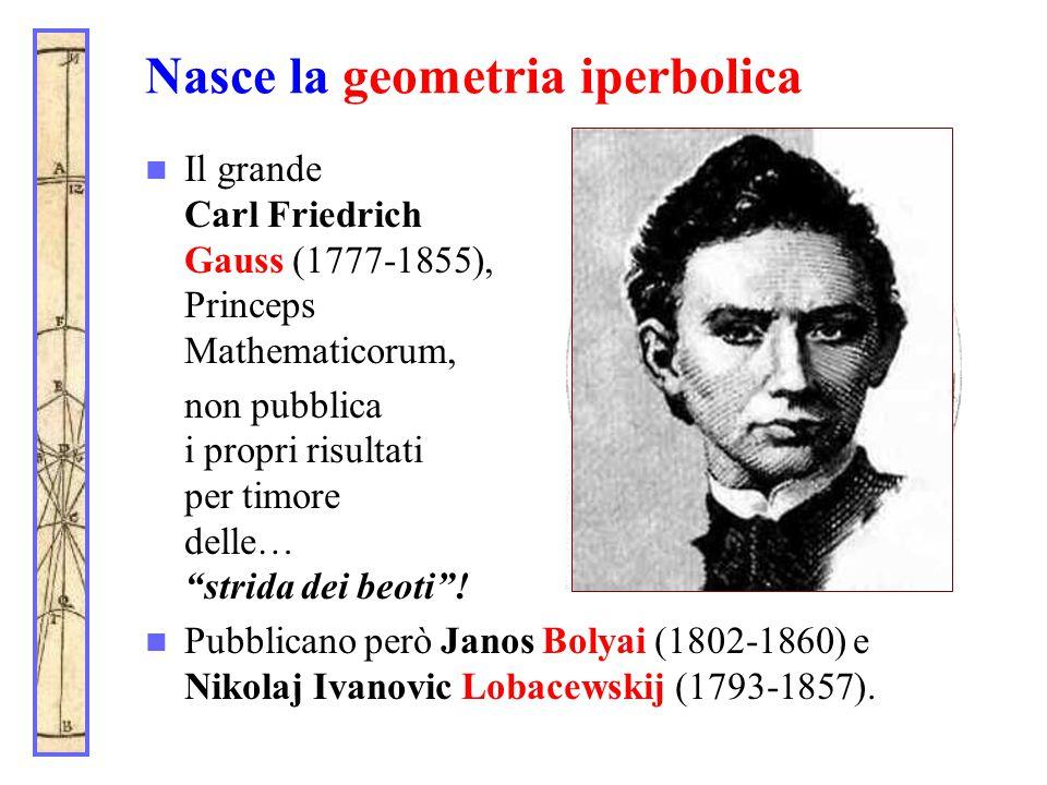 Nasce la geometria iperbolica