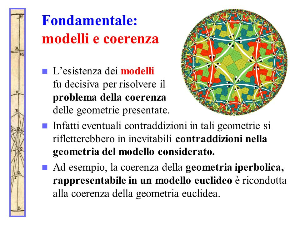 Fondamentale: modelli e coerenza