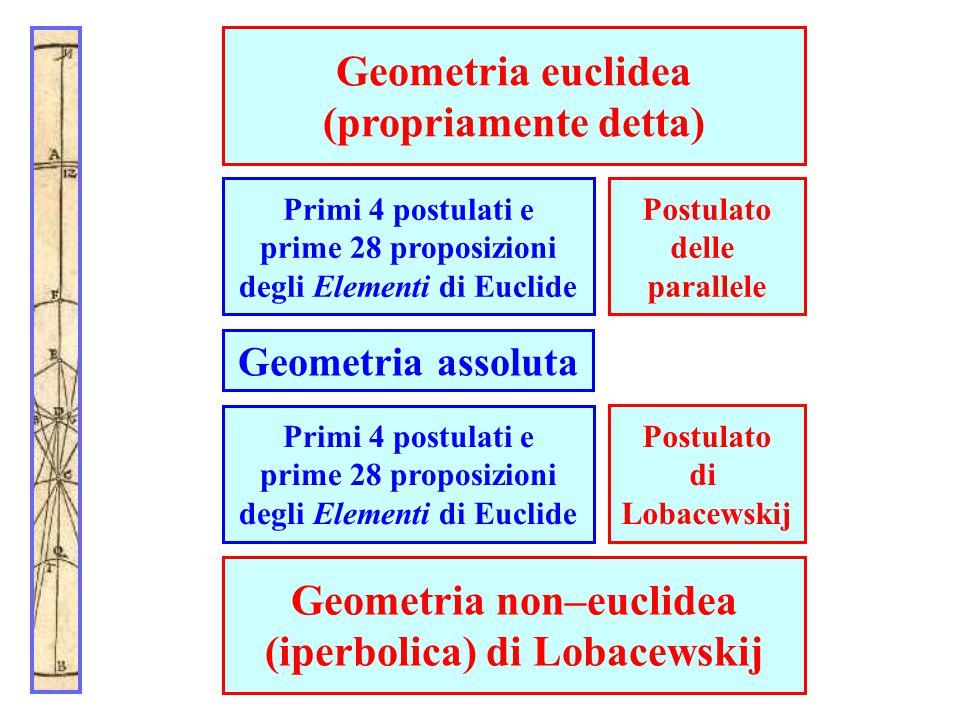 Geometria euclidea (propriamente detta)