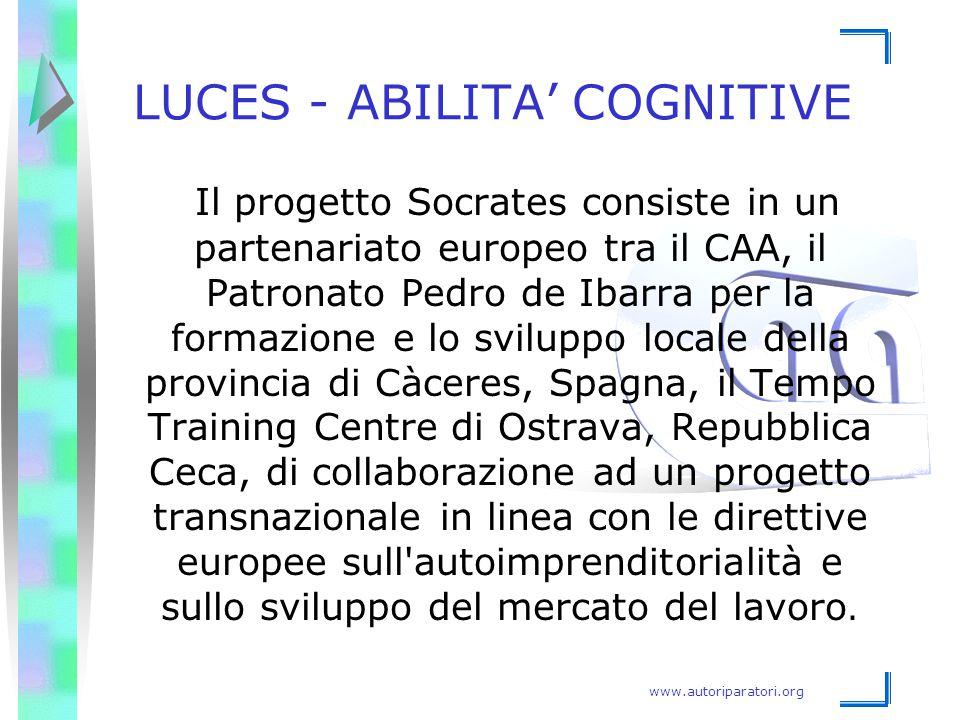 LUCES - ABILITA' COGNITIVE