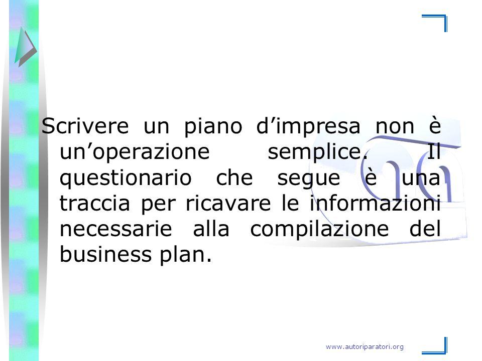 Scrivere un piano d'impresa non è un'operazione semplice