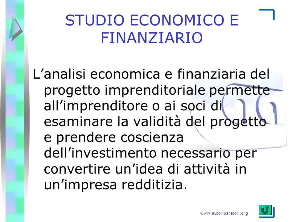 STUDIO ECONOMICO E FINANZIARIO