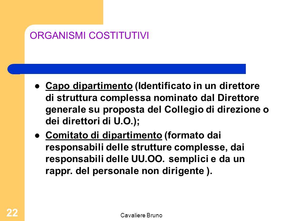 ORGANISMI COSTITUTIVI