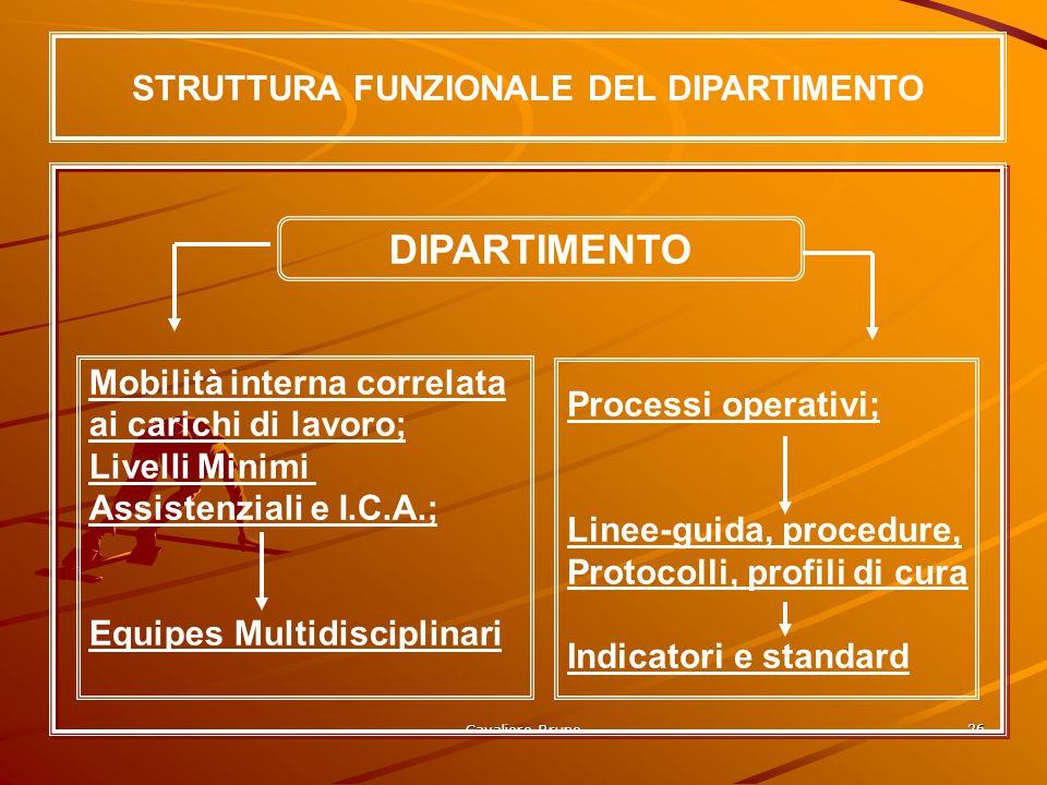 STRUTTURA FUNZIONALE DEL DIPARTIMENTO