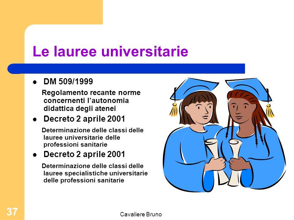 Le lauree universitarie