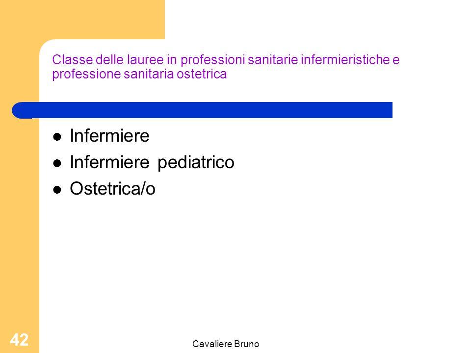 Infermiere pediatrico Ostetrica/o