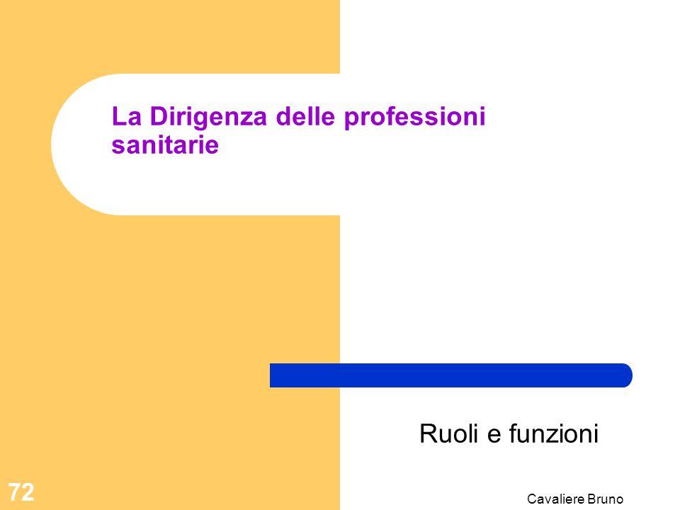 La Dirigenza delle professioni sanitarie