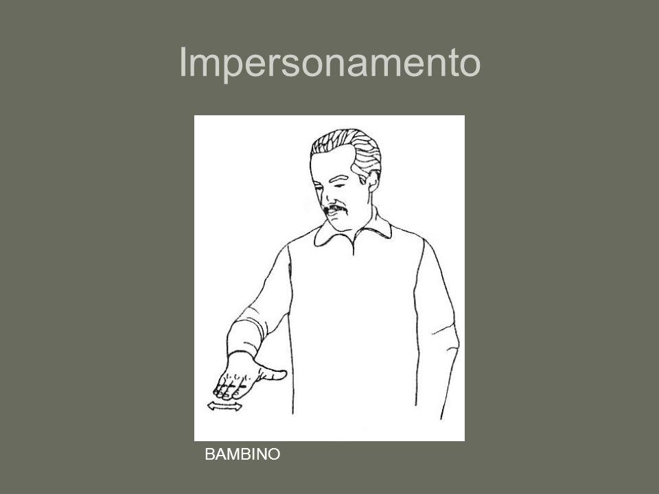 Impersonamento BAMBINO