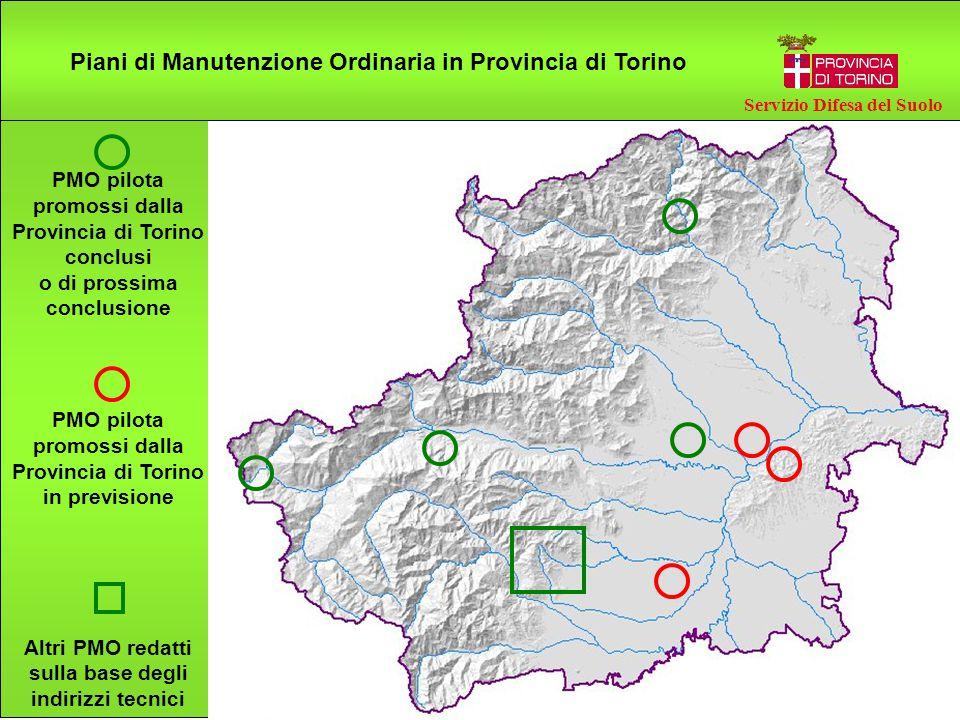 Piani di Manutenzione Ordinaria in Provincia di Torino