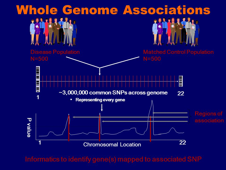 Whole Genome Associations