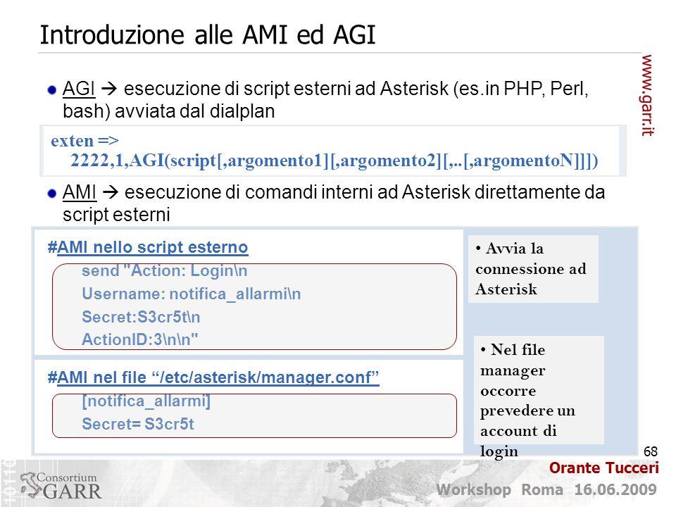 Introduzione alle AMI ed AGI