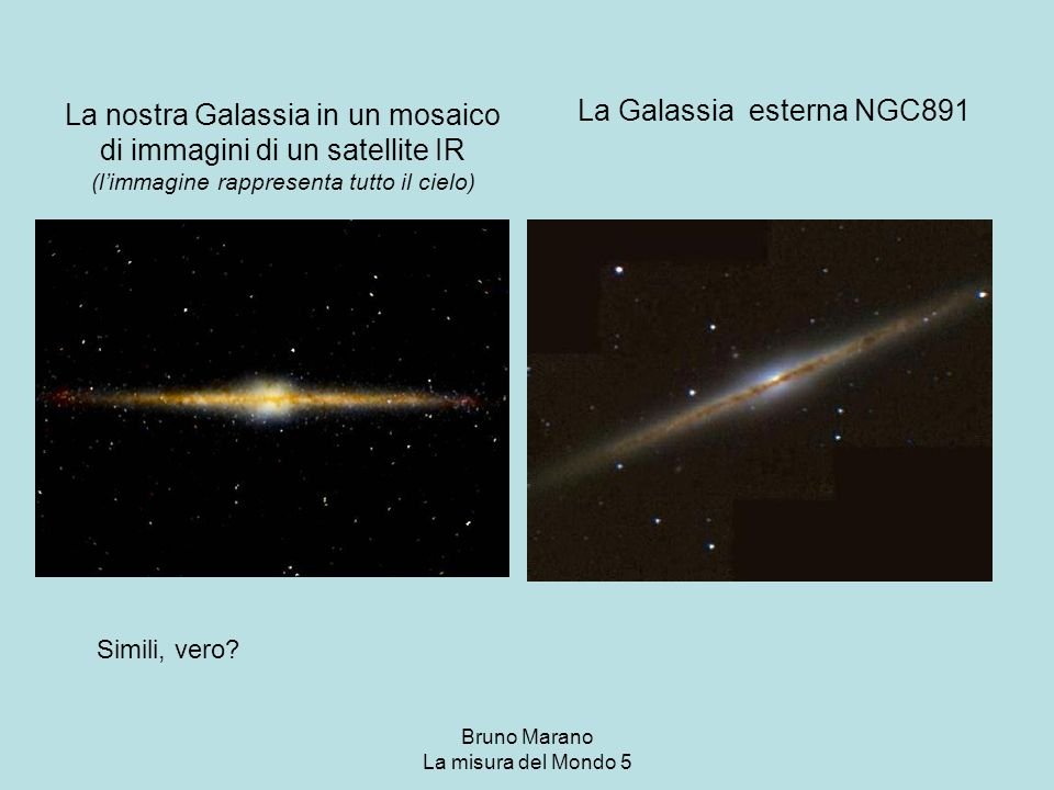La Galassia esterna NGC891