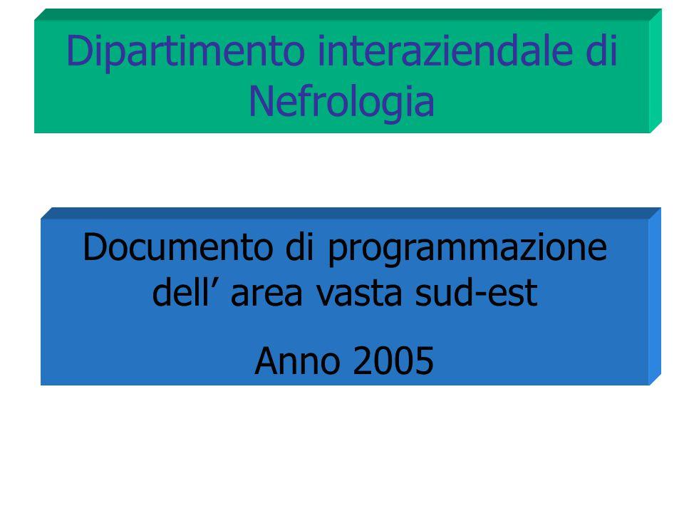 Dipartimento interaziendale di Nefrologia
