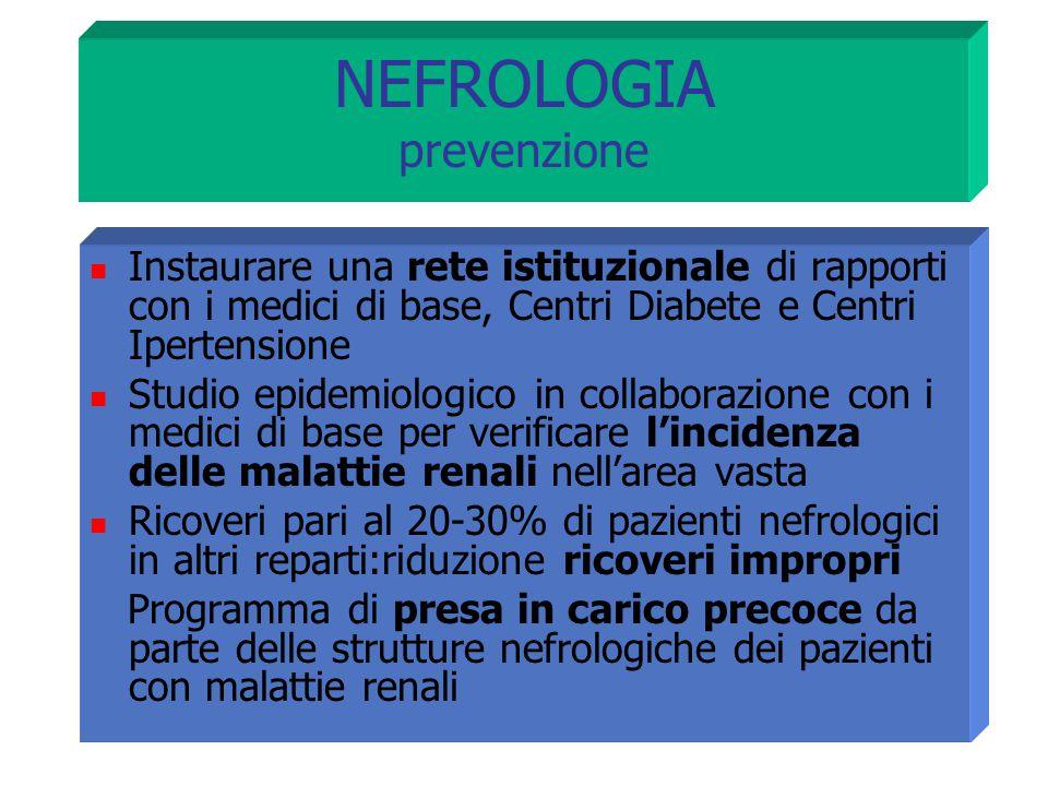 NEFROLOGIA prevenzione