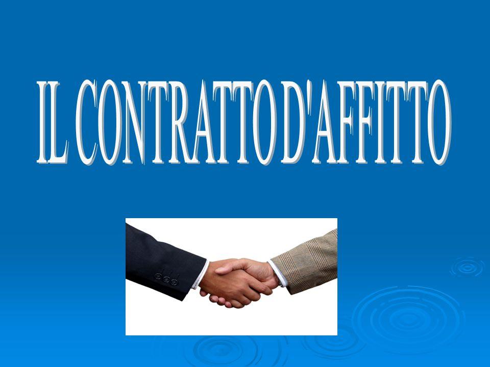 IL CONTRATTO D AFFITTO
