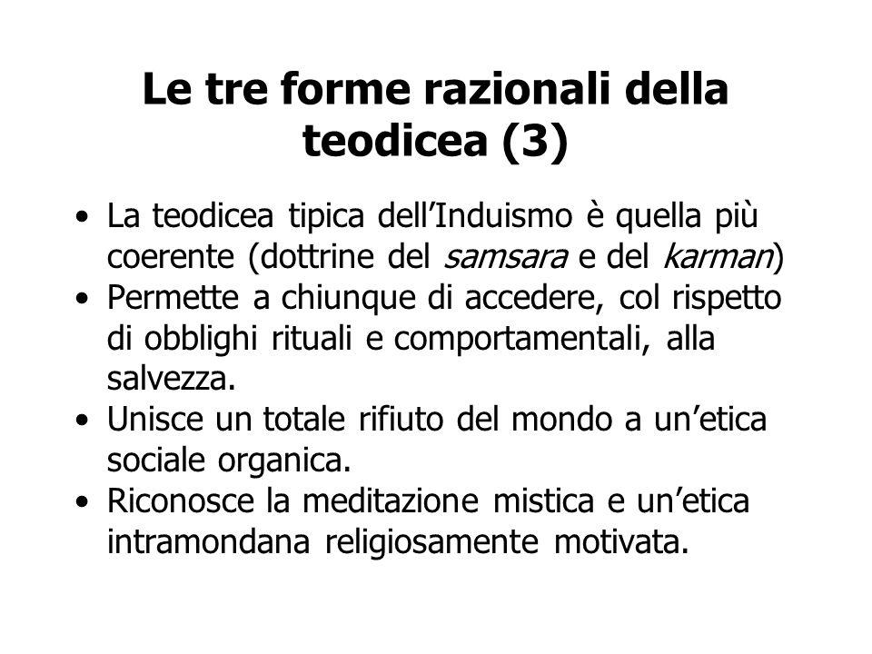Le tre forme razionali della teodicea (3)