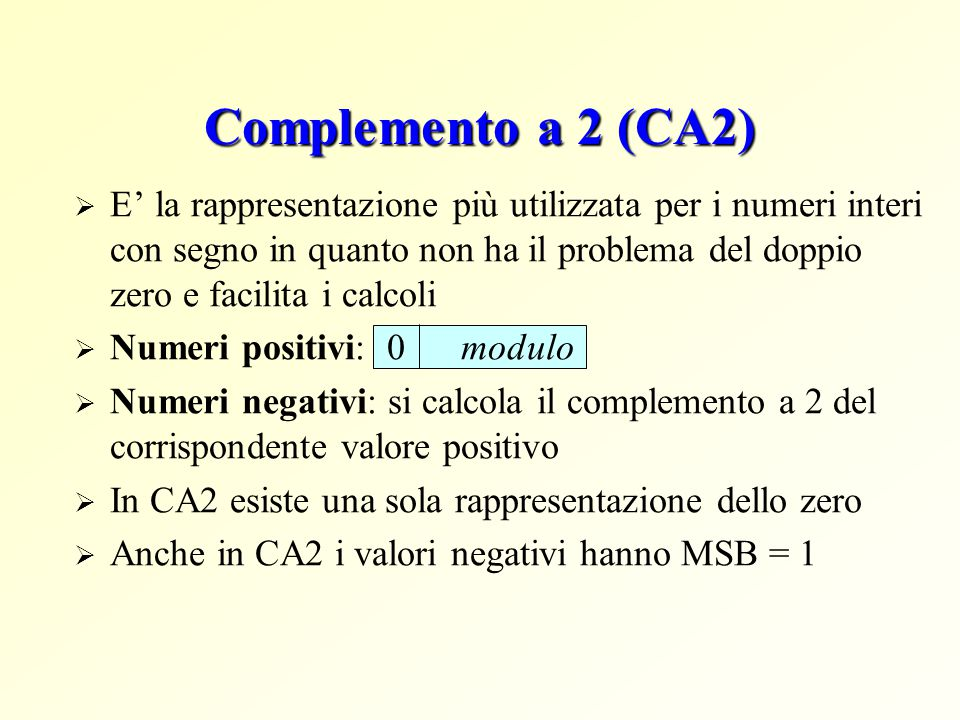 Complemento a 2 (CA2)