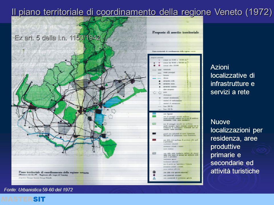 Il piano territoriale di coordinamento della regione Veneto (1972)