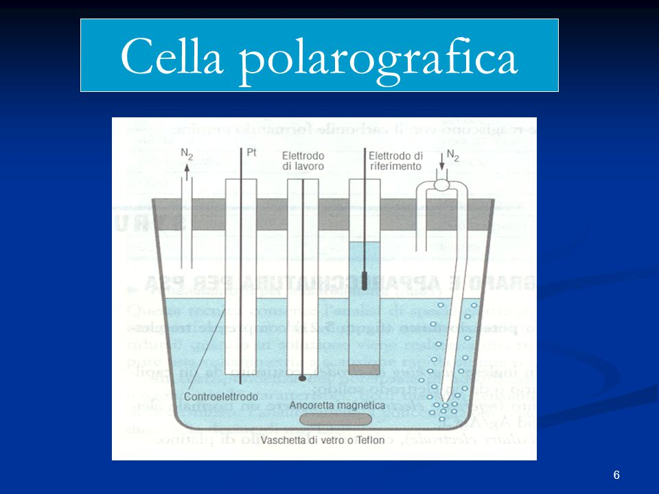 Cella polarografica