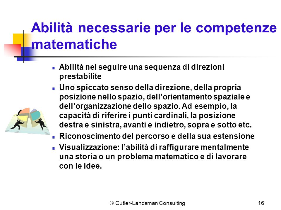 Necessità di competenze (segue)
