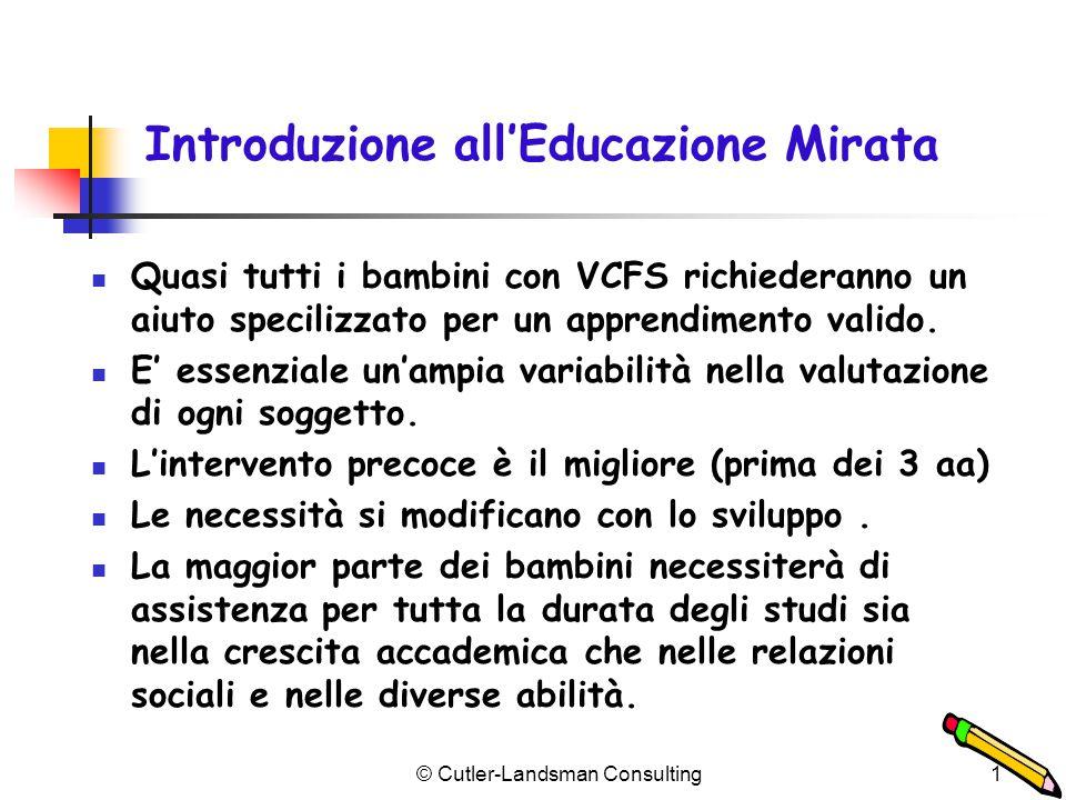 Educazione Speciale e VCFS