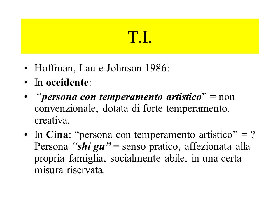 T.I. Hoffman, Lau e Johnson 1986: In occidente: