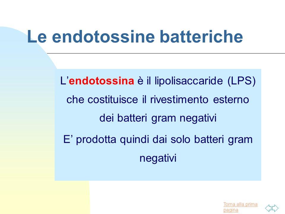 Le endotossine batteriche