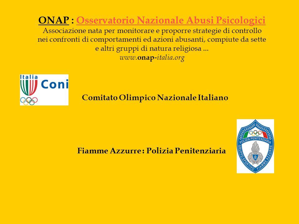 ONAP : Osservatorio Nazionale Abusi Psicologici