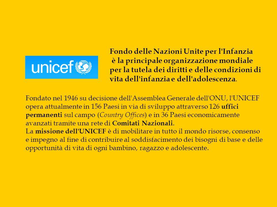 Fondo delle Nazioni Unite per l Infanzia