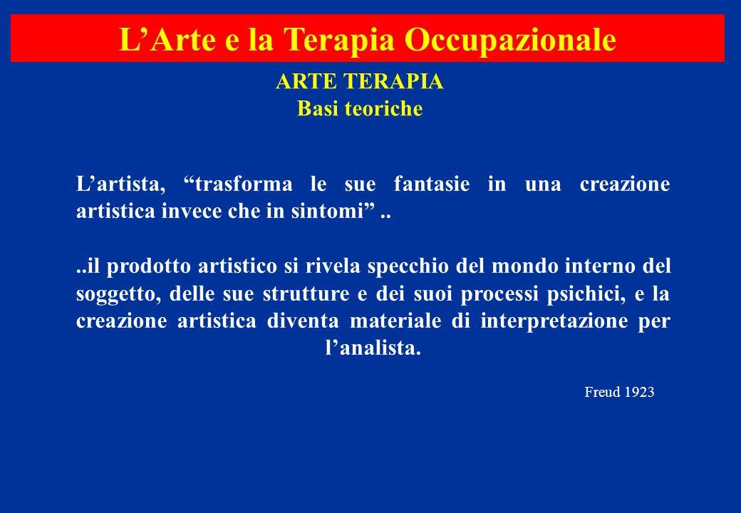 L'Arte e la Terapia Occupazionale