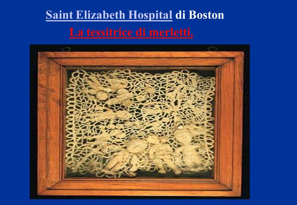 Saint Elizabeth Hospital di Boston La tessitrice di merletti.
